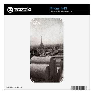 Paris II iPhone 4 Decals
