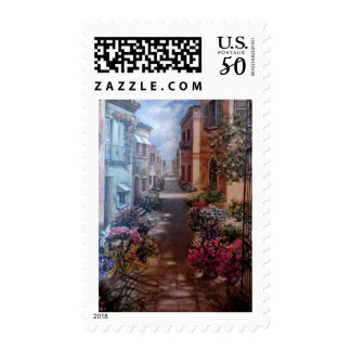 Paris in bloom postage