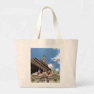 Paris in Las Vegas Canvas Bag
