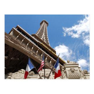 Paris in Las Vegas Postcard