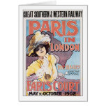 Paris in London Earls Court Greeting Card
