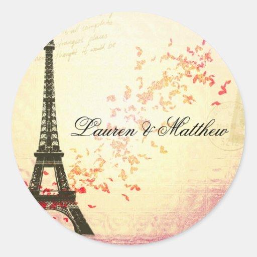 Paris in Love - Eiffel Tower Sticker