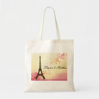 Paris in Love - Eiffel Tower Tote Bag