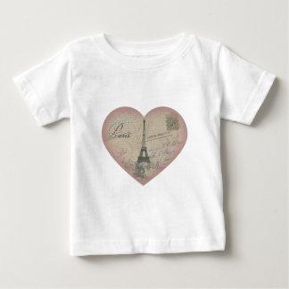 Paris in my heart baby T-Shirt