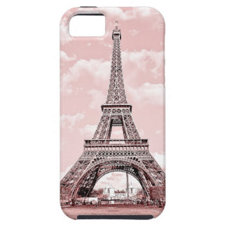 Paris in Pink Eiffel Tower iPhone 5 Covers