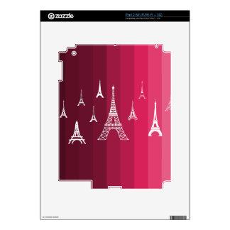 Paris in Pink iPad 2 Skins