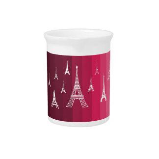Paris in Pink Pitcher