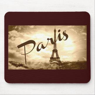 Paris in Sepia Mouse Pad
