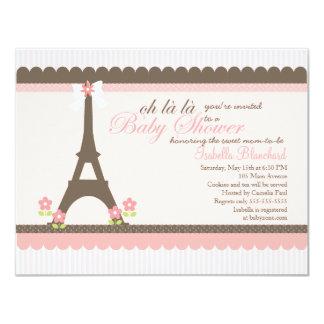 Paris in Spring Baby Shower Invite