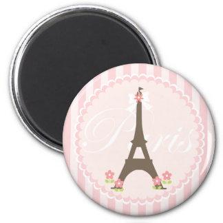 Paris in Spring Girly Magnet