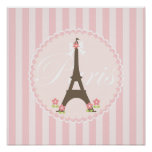 Paris in Spring Girly Posters