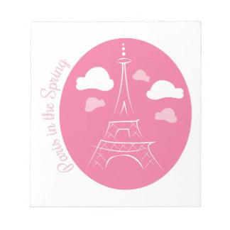 Paris In Spring Notepad