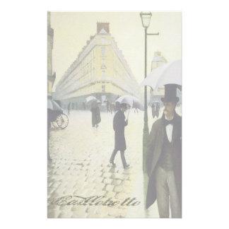 Paris in the Rain - Stationery