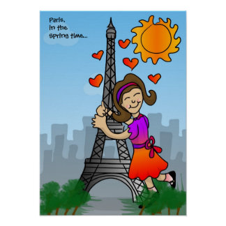 Paris, in the Spring time... Poster