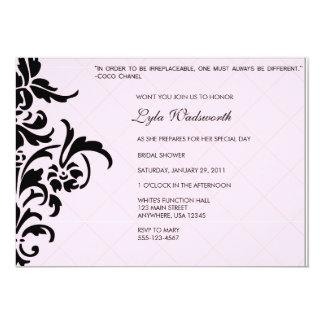 "Paris Inspired Invitation 5"" X 7"" Invitation Card"