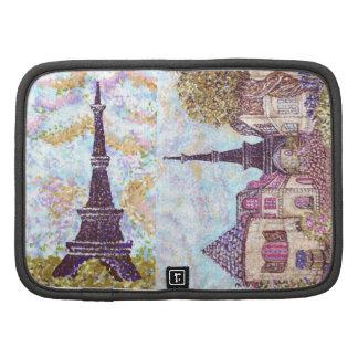 Paris Inspired Pointillism Rickshaw Folio Folio Planner