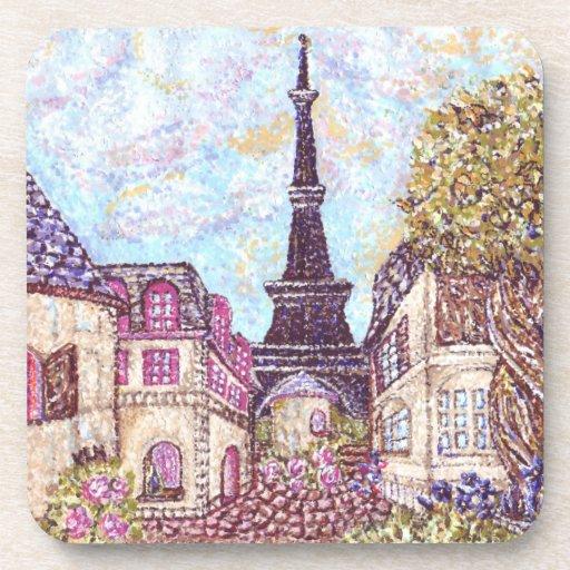 París inspiró al práctico de costa del corcho del  posavasos