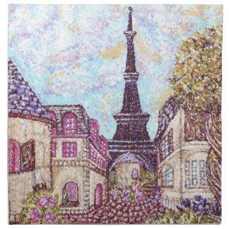 París inspiró la torre Eiffel M americano del Poin Servilleta