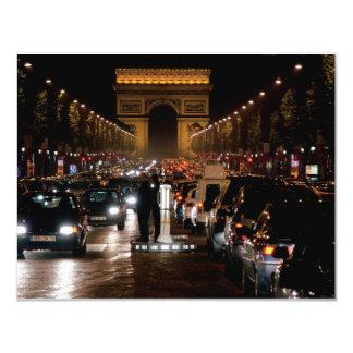 """París Invitación 4.25"""" X 5.5"""""""