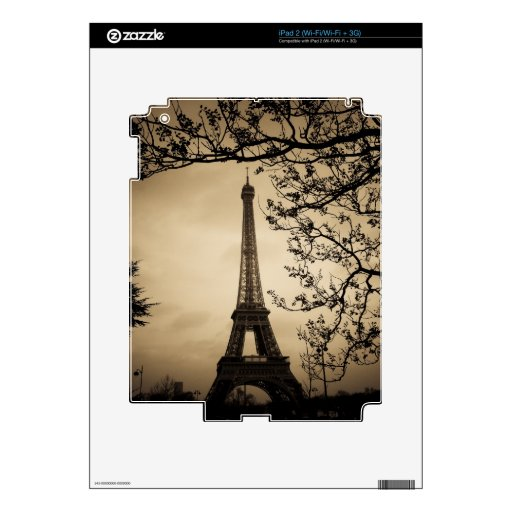 París iPad 2 Skin