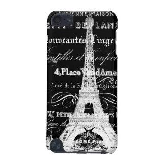 Paris iPad Touch Case Black