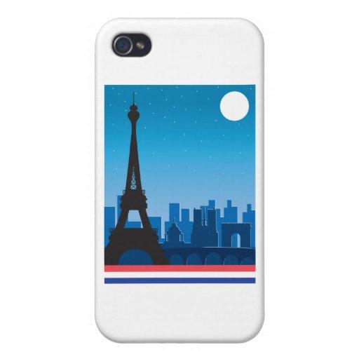 París iPhone 4 Carcasa