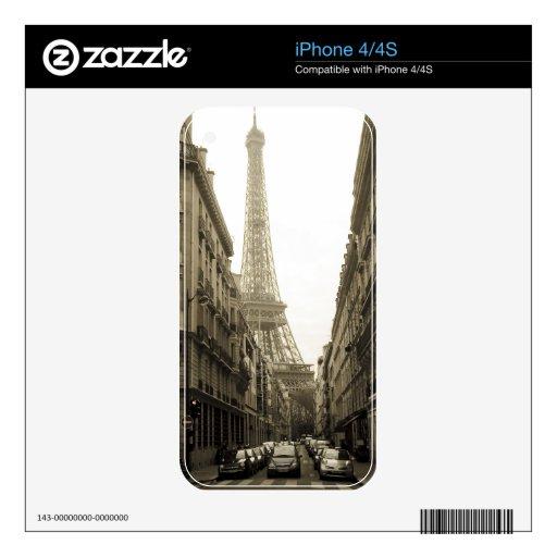 Paris iPhone 4S Skin
