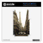 París iPod Touch 4G Skin