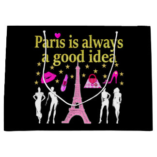 PARIS IS ALWAYS A GOOD IDEA LARGE GIFT BAG