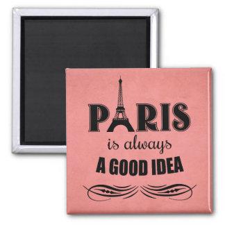 Paris is always a good idea magnet
