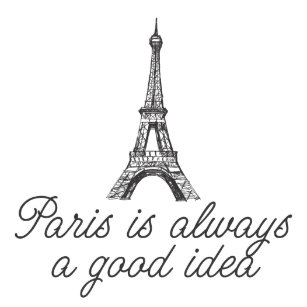 Paris Always A Good Art Wall Décor Zazzle