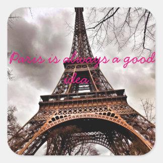 """""""Paris is always a good idea"""" sticker sheet"""