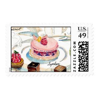 Paris Ispahan Stamp