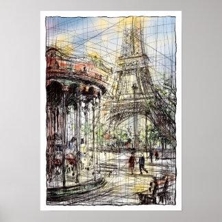 Paris IX Poster