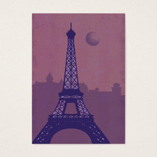 Paris j'adore business card