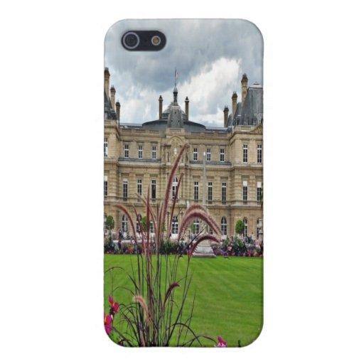 Paris Jardin du Luxembourg iPhone 5 Cases