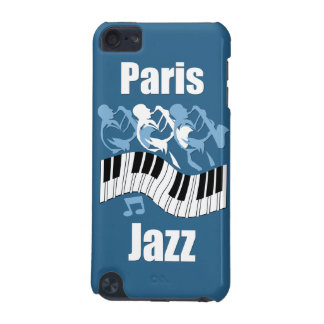 Paris jazz iPod touch (5th generation) cover