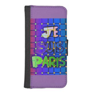 Paris Je Suis Paris Latest iPhone 5/5s Wallet Case