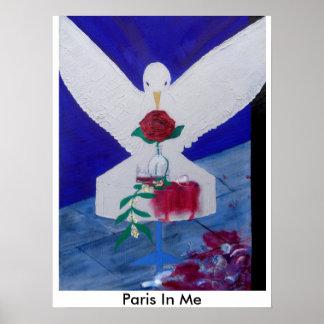 Paris Je suis Paris Paris en moi Poster