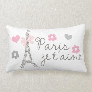 Paris Je T aime Throw Pillows