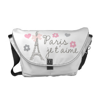 París Je T'aime Bolsa De Mensajería