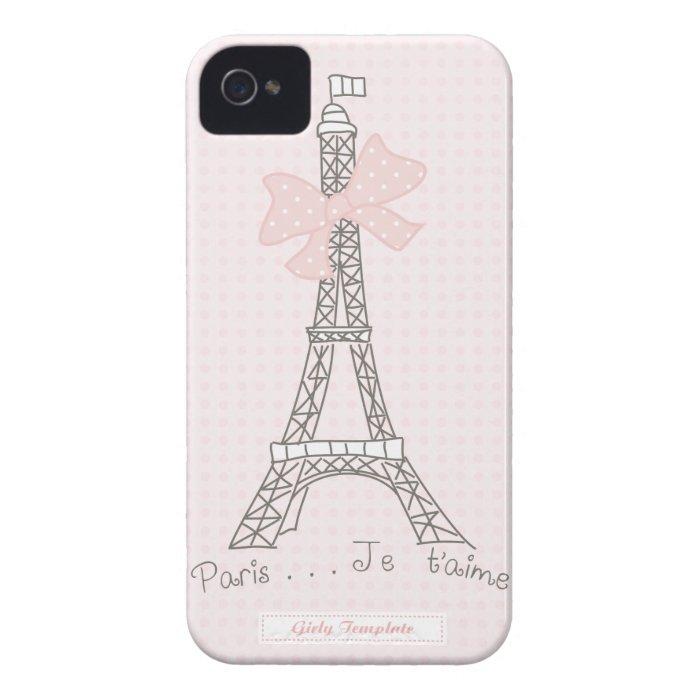 Paris je t'aime Case