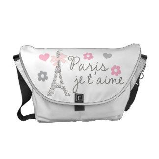 Paris Je T'aime Courier Bag