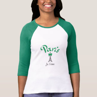 PARIS Je t'aime Eiffel Tower Shirt