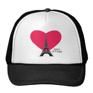 Paris, Je T'Aime Trucker Hat