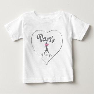 Paris Je t'aime ( I love you) Baby T-Shirt