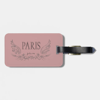 PARIS Je t'aime ( i love you) Bag Tag