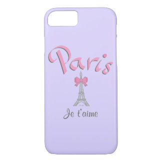 Paris - Je t'aime (I love you) Cool iPhone 7 iPhone 8/7 Case