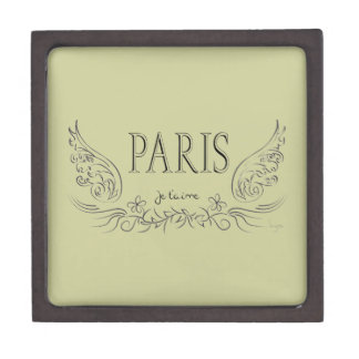 PARIS Je t'aime ( i love you) Jewelry Box