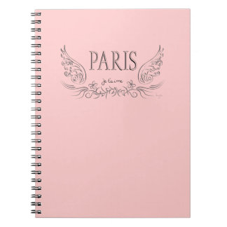 PARIS Je t'aime ( i love you) Notebook